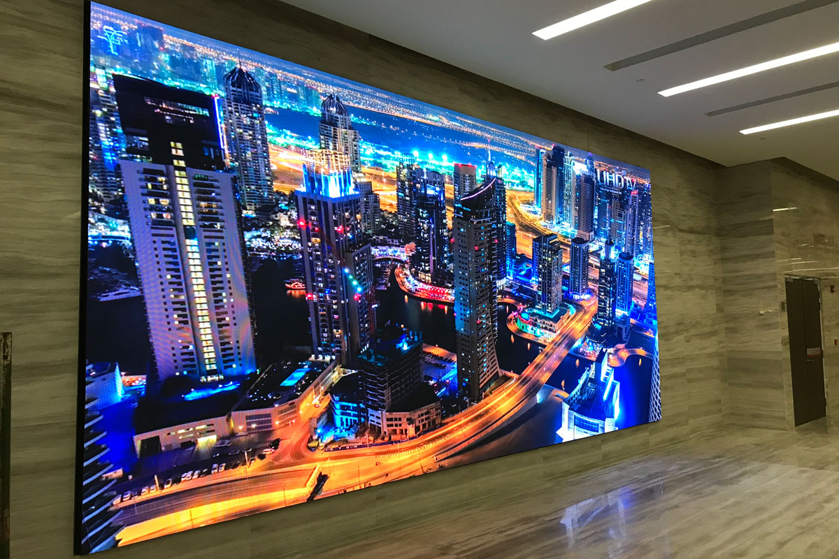 Etiqa Indoor LED Display